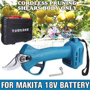 For Makita 18V Battery 30MM 500W Electric Pruning Shears Branch Cutter Scissor