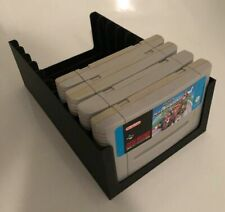 Super Nintendo SNES Game Cartridge Tray/Rack/Stand/Storage/Box/Case