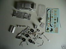 Ford White Metal Diecast Racing Cars