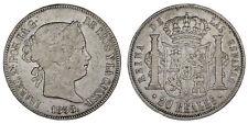 20 SILVER REALES / PLATA. ISABELLA II - ISABEL II. MADRID 1858. VF/MBC. OFERTA