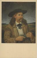WILD BILL HICKOK Vintage Postcard Prince of Pistoleers Murdered By Jack McCall