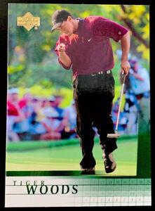 2001 Upper Deck Golf # 1 Tiger Woods Rookie Card RC - GOAT