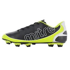 New Mitre Mirage Soccer Cleats Shoes Size 12 Black / Yellow Mens Nib