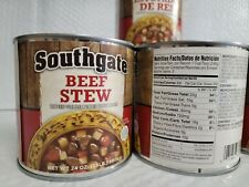 Southgate Beef Stew 24 OZ (Pack of 6 Cans) Meat Brunswick Dinty Moore Soup