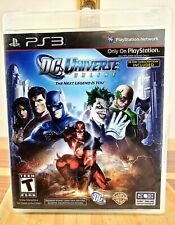 PS3 DC Universe Online Video Game The Next Legend is You Multiplayer Online 720p