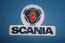 `SCANIA`SEW OR IRON ON PATCH