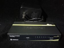 Trendnet Te100-S80g 8 Port Gigabet Greennet Switch w/Power Adapter Our#1