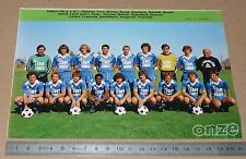 CLIPPING POSTER FOOTBALL 1980-1981 D2 AS ANGOULEME