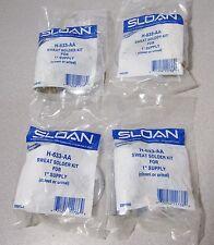 "4x! H-633-AA Sloan Sweat Solder Kit 1"" supply Closet Urinal"