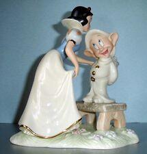 Lenox Disney Dopey's Sweet Reward Snow White & Dopey Figurine New In Box