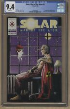 SOLAR MAN OF THE ATOM #5 🔥 CGC 9.4 🔥 Valiant Comics 🔑 1st ORB Industries