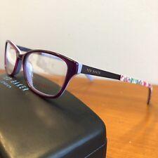 56489dc413d Ted Baker Women s Eyeglasses Frames B714 Rasberry Floral