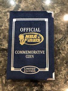 1997 1 oz .999 Fine Silver NBA Finals Commemorative Coin Chicago Bulls Utah Jazz