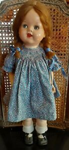 saucy walker doll ideal 22 inches tall no rerserve