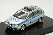 Rare !! VW Golf Variant Russian Police Custom Made 1/43