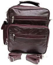 8 Pocket Multi-Function Genuine Leather Purse Handbag w/Organizer Top Handle