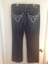 Big Star Jeans called PIONEER BOOTCUT Men's Denim Blue Jeans size 36R