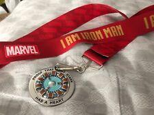 SDCC 2019 I am Iron Man Arc Reactor Lanyard Exclusive Marvel Avengers Endgame