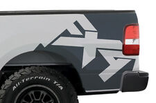 Custom Vinyl Graphics Rear Decal FX4 Wrap Kit for Ford Truck F-150 2004-08 Gray