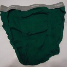 Nos Vtg Green Honors 100% Cotton Bikini Briefs Underwear M Oldstock M 32-34