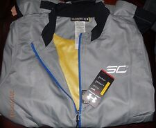 MENS UNDER ARMOUR HEATGEAR SC 30 BASKETBALL JACKET 2XL XXL BLACK/GRAY NWT