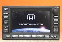 HONDA CRV CR-V CIVIC CD RADIO SAT NAV RADIO PLAYER CAR STEREO CODE NAVIGATION