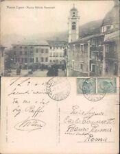 VARESE LIGURE,PIAZZA V.EMANUELE,ANIMATA E PERFETTA -LIGURIA(SP)-FP/VG-45233