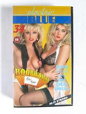 Electric Blue 34 Boobwoman Rides Again 1990 Retail VHS Video