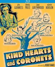 Kind Hearts And Coronets Blu-Ray | Alec Guinness | Dennis Price | Ships 9/3