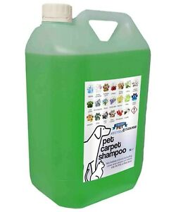 Pet Carpet Shampoo 5L Container Lime Scented Neutracleanse Fresh Pet
