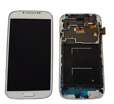 LCD Display für Samsung GT- I9505 Galaxy S4 Weiß White KOMPLETTSET RAHMEN Neu