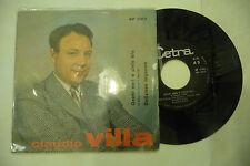 """CLAUDIO VILLA""""OCCHI NERI E CIELO BLU-disco 45 giri CETRA It 1963"""""""