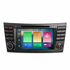AUTORADIO ANDROID 6 8-CORE 32GB MERCEDES Classe E,C,CLK,CLS W211 W209 Bluetooth