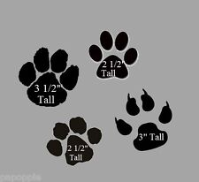 Stencil Paws Paw Prints Animal Feet Bears Dogs Cats Claws