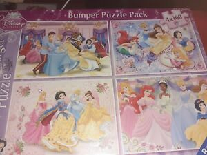 Ravensburger puzzle Bumper pack Disney Princess age 6+ used