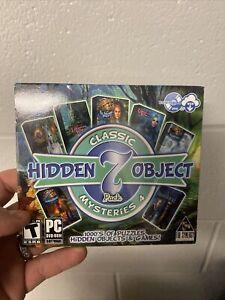 Classic Hidden Object Mysteries 4 PC Games Windows XP,Vista,7,8,10 - Brand New