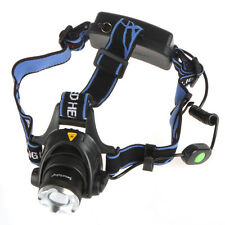 CREE XM-L T6 LED 3000 Lumen Zoomable Bicycle Headlamp Adjust Focus Headlight
