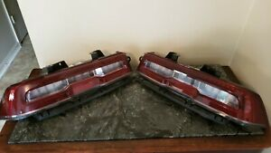 2014-2015 Chevy Camaro SS ZL1 LED Tail Lights Set Left & Right OEM GM Factory
