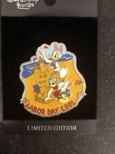 Pin 15357 WDW- Labor Day 2002- Daisy & Donald