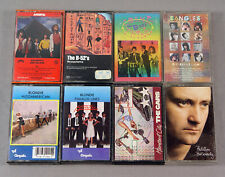 1980s Rock 30 Cassette Lot B-52's Cars Cure Devo Madonna Police U2 Blondie