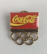USA Olympic Coca-Cola Sponsor Pin