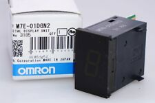 OMRON m7e-01dgn2 LED Digital Display Unit NEG 12-24vdc GREEN NUOVO
