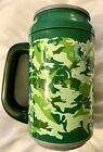 COOL GEAR 33 oz Travel Mug RARE Green Camo w Covert Ops Facts and recipe NEW