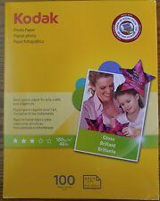 Kodak Photo Paper Gloss 100 sheets 160 4925 $29