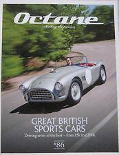 Octane magazine 08/2010 featuring Austn Healey, Ferrari, Bugatti, Audi, Datsun