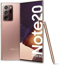 Samsung Galaxy Note20 Ultra 5G 6.9 Dynamic Amoled 12/256GB Mystic BRONZO GRADO A