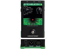 Tc-helicon tono de voz D1 Duplicación & Desafinación Effector pedal para vocales