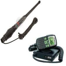UNIDEN UH5060 80 CHANNEL UHF RADIO + GME AE4704B 2.1DBI BLACK HEAVY DUTY ANTENNA