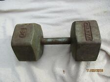 60 Pound Steel Hex Dumbell Exercise Weight Lifting Trainer