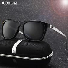 Aluminium Mens Polarized Sunglasses Driving Outdoor Sports Glasses Retro Eyewear